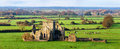 Cashel, Ireland. Panoramic view of ruins of an Hore Abbey Royalty Free Stock Photo
