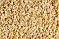 Cashew nuts arranged Royalty Free Stock Photo