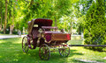 Casic carriage in the wood Stock Photos
