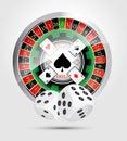 Casino - all casino games winner Royalty Free Stock Photo