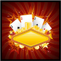 Casino background Royalty Free Stock Images