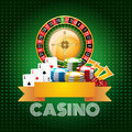 Casino background poster print