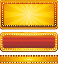 Casino banners Royalty Free Stock Image