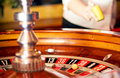 Casino. Bet on the table Stock Photography