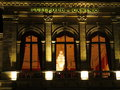 Casino building detail by night Royalty Free Stock Photo