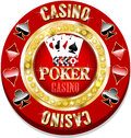 Casino chip for websites and other places Stock Photo
