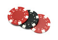 The casino chips Royalty Free Stock Photo