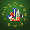 Casino Concept. Vector Royalty Free Stock Photo