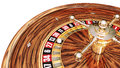 Casino d rendering of a roulette Royalty Free Stock Images