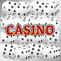 Casino dice set