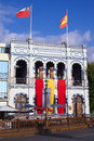 Casino espanol in iquique chile january the building of the spanish on plaza prat main square on january Stock Images
