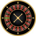 Casino european roulette vector
