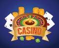 Casino gambling game Royalty Free Stock Photo