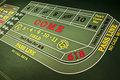 Casino Gambling Gaming Craps Table Game Royalty Free Stock Photos