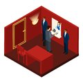 Casino And Gambling Isometric Illustration Royalty Free Stock Photo