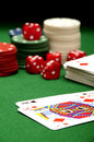 Casino games Stock Images