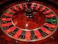 Casino roulette wheel Royalty Free Stock Photo