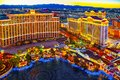 Casino, hotel and resort-Bellagio. Las Vegas Royalty Free Stock Photo
