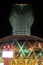 casino, Macao,china Royalty Free Stock Photo