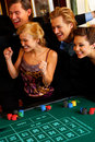 Casino Party Stock Images