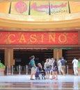 Casino at resorts world sentosa singapore in island Stock Photos