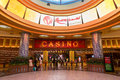 Casino at resorts world sentosa in singapore people the overseas citizens can enter the free of charge with their Royalty Free Stock Photography