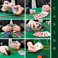 Casino set Stock Photo
