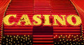 Casino sign in las vegas nevada usa Stock Photo