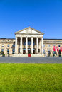 """Casino wiesbaden entrance of the in the """"casino wiesbaden"""" is one of germany's oldest casinos Royalty Free Stock Photography"""