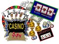 Casinos and Gambling Royalty Free Stock Photo