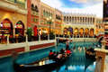 Casinos in macau venice hotel shopping street Stock Images