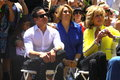 Casper smart jane fonda and attend walk of fame ceremony for jennifer lopez Stock Image