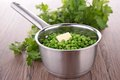 Casserole with pea Stock Image