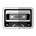 Cassette music old fashion