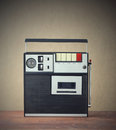 Cassette recorder Stock Image