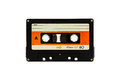 Cassette tape. Royalty Free Stock Photo