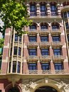 Cast iron balconies in Melbourne Royalty Free Stock Images