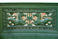 Cast Iron With A Bas-relief Of...