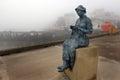 Cast Statue Of Fisherwoman In ...