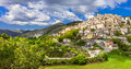 Castel del Monte Abruzzo, Italy. Royalty Free Stock Photo