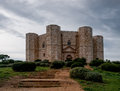Castel del Monte. Italy Stock Photos