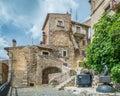 Castel del Monte, L`Aquila Province, Abruzzo Italy. Royalty Free Stock Photo