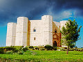 Castel del monte unesco world heritage site puglia Royalty Free Stock Photo