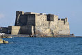 Castel dell'Ovo in Gulf of Naples, Naples, Italy Royalty Free Stock Photo