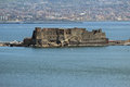 Castel dell ovo in naples gulf of with the fortress Stock Photos