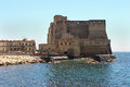 Castel dell ovo naples italy june seaside castle on the former island of megaride in the gulf of naples italy june famous Royalty Free Stock Photos