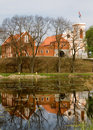 Castel in Gostynin (Poland) Royalty Free Stock Image