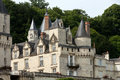Castel of rigny usse known as the sleeping beauty castle and built in the eleventh century loire valley france Royalty Free Stock Photography