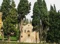 Castel San Pietro St.Peter`s Castle. Verona, Italy. November 2018