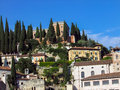 Castel san pietro in verona italy scenery from Royalty Free Stock Photo